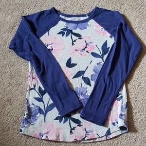 Carter's girls size 6 long sleeve shirt